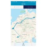 ユーレイル公式アプリ「Rail Planner App」が刷新、1日ごとのルートを地図上に表示する機能などを追加