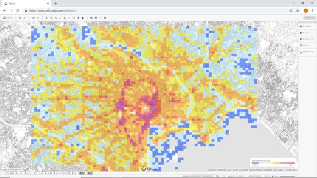 ブログウォッチャー、位置情報データを衛星データプラットフォーム「Tellus」に提供