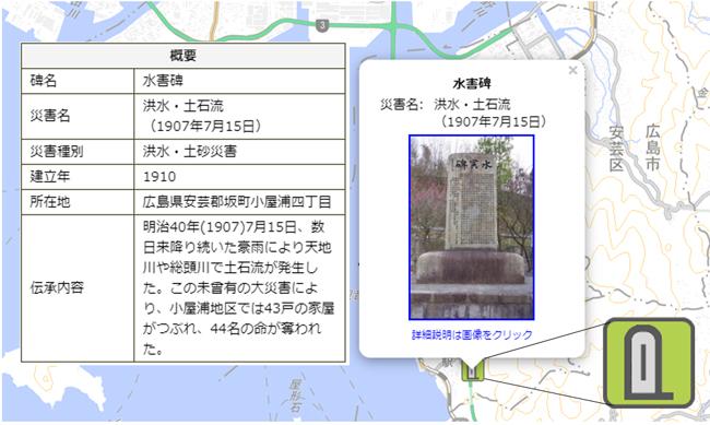 国土地理院、地図記号「自然災害伝承碑」を地理院地図に掲載