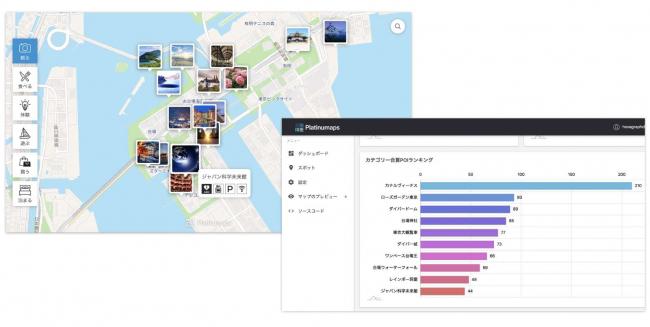 ボールドライト、オリジナルマップ作成ソリューション「プラチナマップ」にデータ分析機能を追加