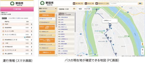 VISHのバスロケシステム「BUS CATCH」、野田市のコミュニティバス「まめバス」に採用