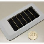 シャープ、高い発電効率を実現した太陽電池の採用でバッテリー交換を不要にした新ビーコンを開発
