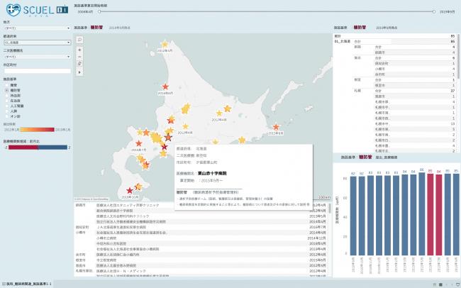 糖尿病に悩んだら地図を見て病院探し、医療機関データベースが期間限定で無料公開