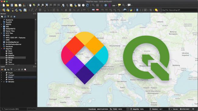 MIERUNEとMapTiler、QGIS用MapTilerプラグインを提供開始