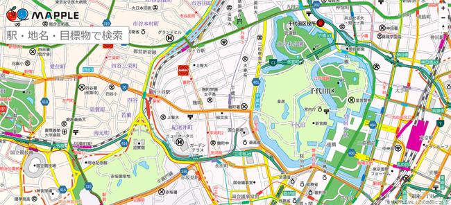 マップル、研究開発サイト「マップルラボ」でベクトル形式の地図データを公開