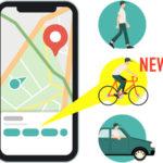 ナビタイム、地図アプリ「ここ地図」に自転車ルートを追加