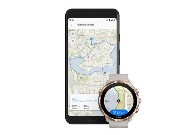 SUUNTOがスマートウォッチのアップデートを発表、オフラインでのルートナビゲーション機能が追加