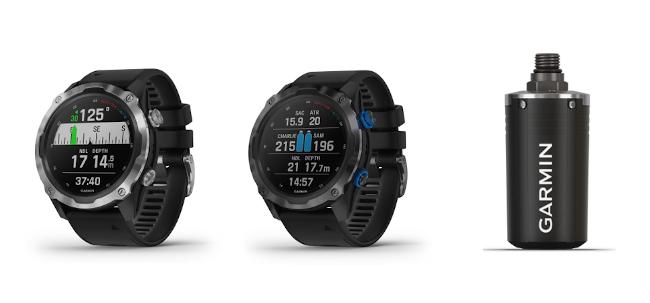 ガーミン、腕時計型のGPSダイビングコンピューター2製品を発売