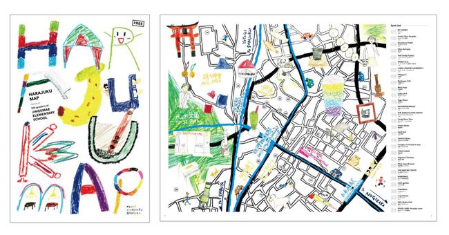 渋谷区観光協会×表参道ヒルズ×ナビタイムジャパン、地域観光学習の支援で原宿の観光ガイドを制作