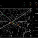六本木商店街でスマート街路灯のサイネージに混雑状況を表示する実証実験がスタート