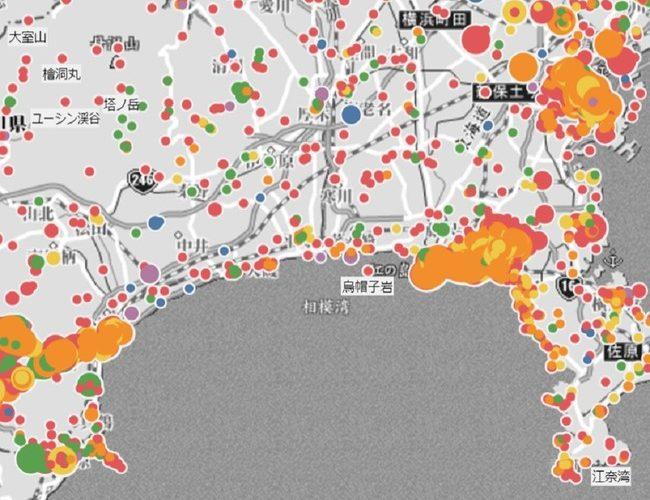 昭文社、観光客に人気のエリアが分かる旅行者意向分析ツール「Travelers'Mind」を提供開始