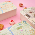ゼンリン、地図柄の弁当箱や水筒、折りたたみ傘などマップデザインブランドの新商品を発売