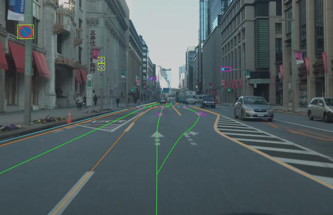 ダイナミックマップ基盤、整備路線を一般道路へ拡張した次世代のHDマップを導入