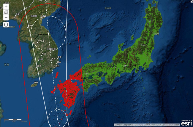 ESRIジャパンとゲヒルン、ArcGIS上で防災気象情報をリアルタイムで配信するサービスを提供開始