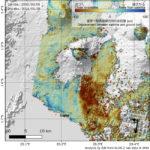 国土地理院、コンゴのニーラゴンゴ火山の噴火に関する衛星データ解析結果を発表