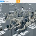 デジタルツインプラットフォーム「4DLinkCloud」、ゼンリンの3D地図データに対応