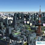 プラトーの3D都市モデル上でリスク情報データを可視化する実証実験が開始