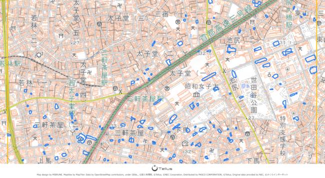 衛星データプラットフォーム「Tellus」でAI画像認識技術による駐車場検知ツール「Tellus VPL」が提供開始