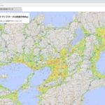 オービタルネット、全国の屋根上ソーラーパネルの位置を可視化したマップを公開
