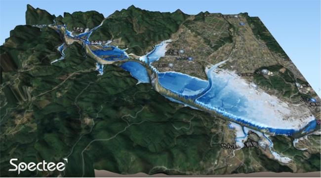 スペクティ、衛星画像とSNSを組み合わせた災害監視システムを開発