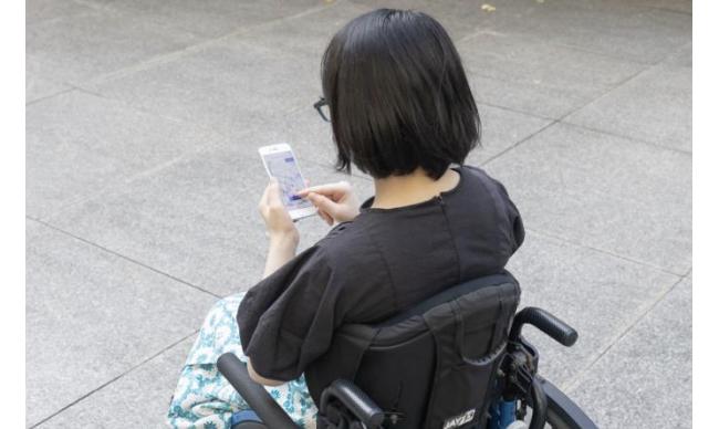 経路検索サービス「ANA空港アクセスナビ」、車椅子ユーザーの移動履歴を地図上で可視化