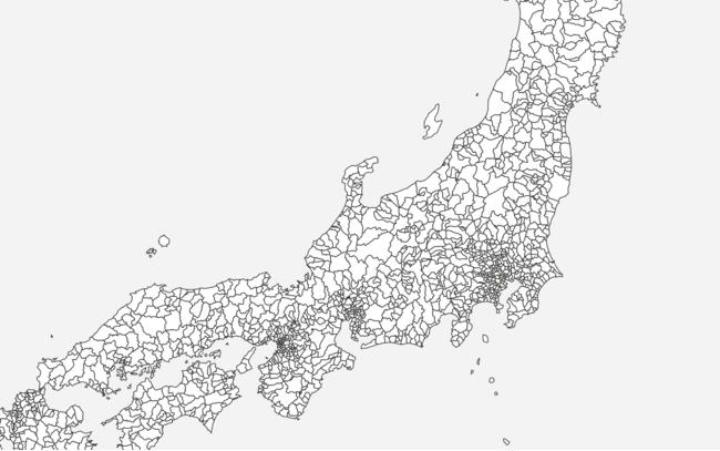 スマートニュース、衆議院小選挙区と行政区域の地図データを無償公開