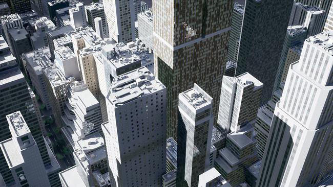 スペースデータ、衛星データをもとにニューヨークの3DモデルをAIで自動生成