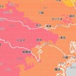 ウェザーニューズ、1kmメッシュの乾燥レベルがわかる「乾燥指数API」を提供開始